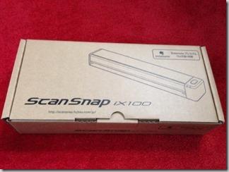 【モバイルスキャナ】ScanSnap iX100を買いました!