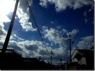 秋から冬の空 [写記 vol.215]