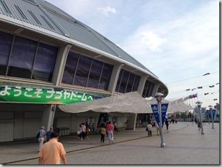 【ナゴヤドーム】レストランシートでゆったり野球観戦