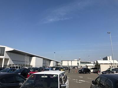 【中部国際空港】まさかの満車に焦る。こんなことなら・・・ [北海道2017 冬 vol.1]