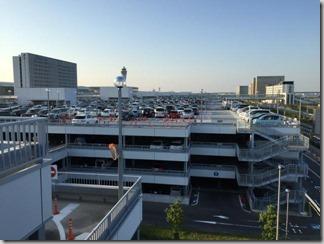 【中部国際空港】日曜日の空港駐車場は激混みだ [熊本の旅 2014 vol.1]