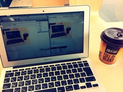 マックでMacでブログ更新