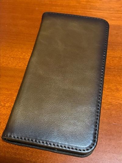 iPhoneXsの手帳型ケースをポチる。