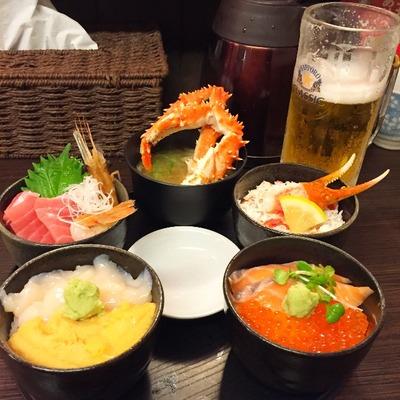 【どんぶり茶屋】北海道を食べた!あれもこれも食べたい人は丸鮮丼がオススメだよ [北海道2016 夏 vol.4]