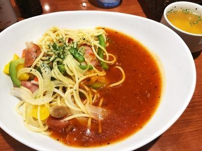 【銀座ライオン】名古屋めし♪あんかけスパゲッティを食べたよ