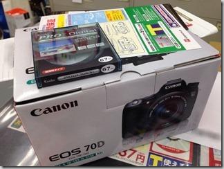【Canon】買っちゃった!Canon EOS70D