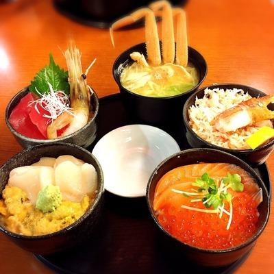 【どんぶり茶屋】色々食べたいなら丸鮮丼がオススメだよ! [北海道2016 秋 vol.14]