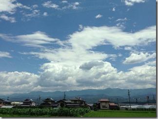 青い空、白い雲 [写記 vol.91]