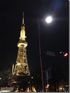 夜桜名古屋