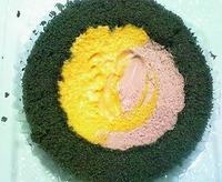 かぼちゃ&紫芋のロールケーキ(ローソン)
