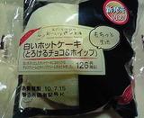 白いホットケーキ(とろけるチョコ&ホイップ)