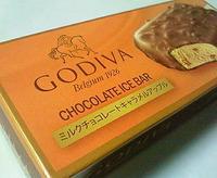ゴディバ ミルクチョコレートキャラメルアップル(GODIVA CHOCOLATE ICE BAR)
