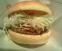 モスバーガー「塩麹だれ 豚天バーガー」期間限定