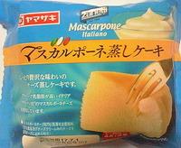 マスカルポーネ蒸しケーキ(ヤマザキ)