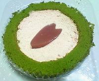 桜と抹茶のロールケーキ(ローソン)