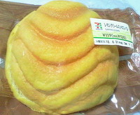 レモンクリームのメロンパン(セブンイレブン)