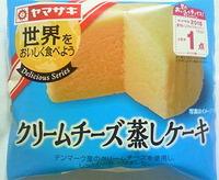 クリームチーズ蒸しケーキ(ヤマザキ)