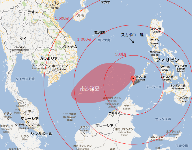 パラワン島 : 【対中国 ... : 東南アジア 地図 無料 : 無料