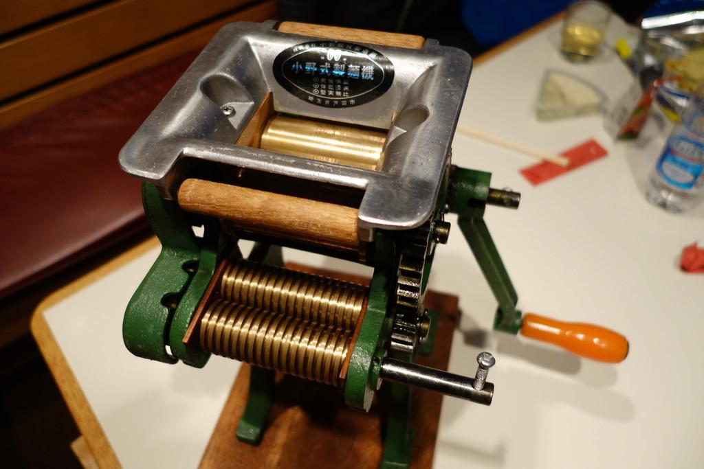 「製麺機 昔」の画像検索結果