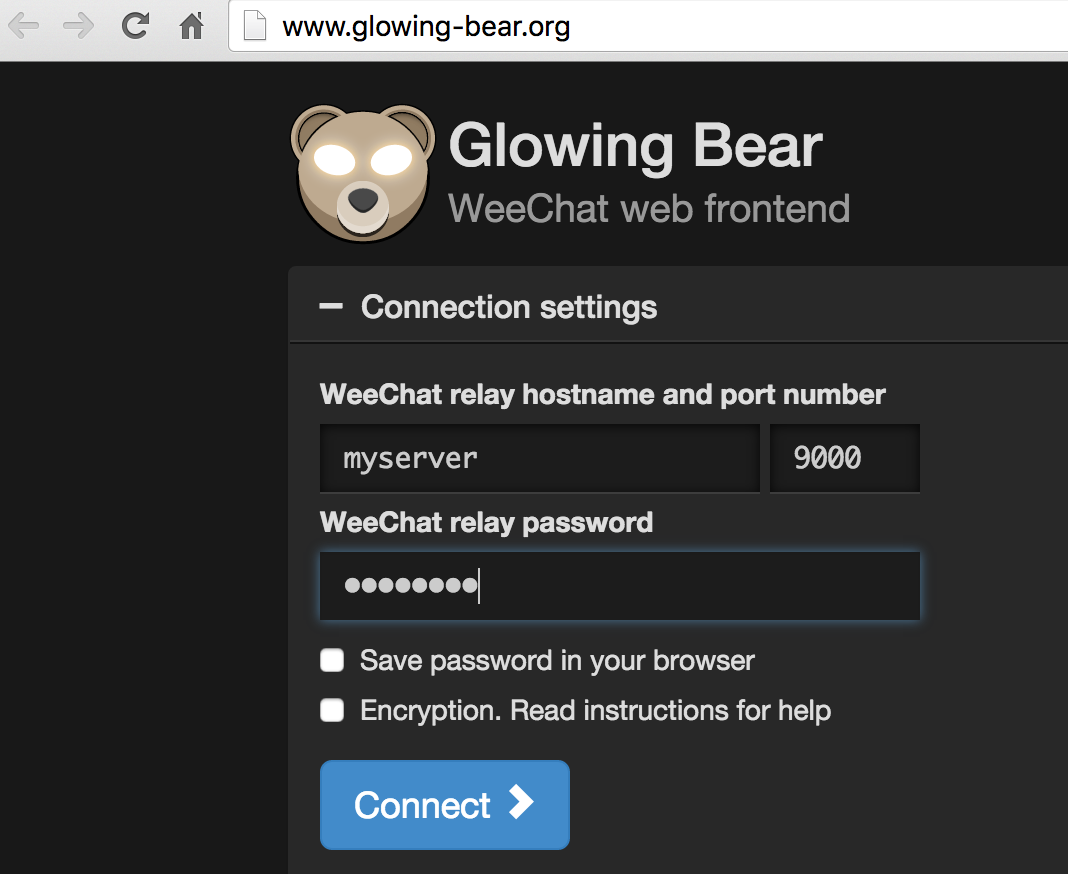 glowingbear