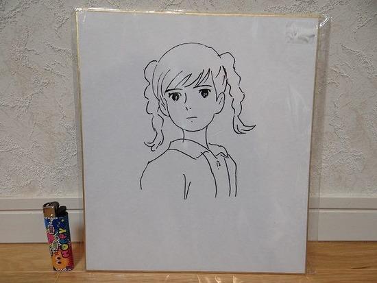 【悲報】 宮崎駿の直筆イラストがヤフオクで50万円で出品される…