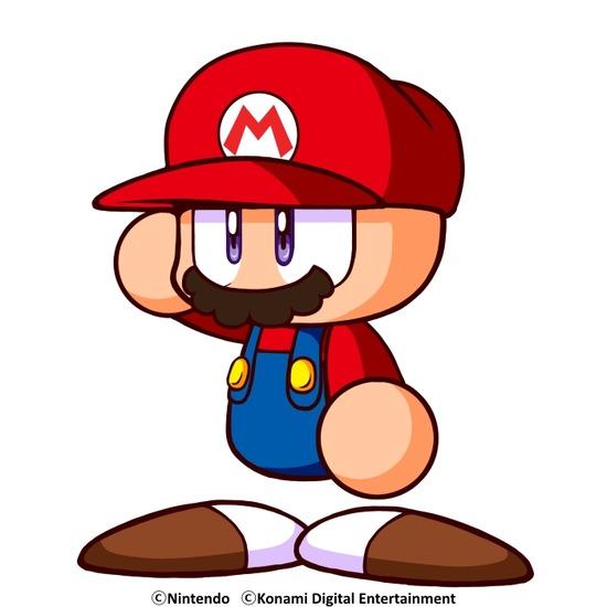 任天堂のマリオさん、パワプロでファイアボールを投げるwwwww