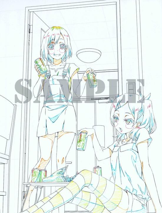 『SHIROBAKO』BD-BOXの特典描き下ろしイラストがエロくて素晴らしいwwwww