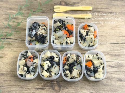 豆腐 煮物 冷凍 高野 ひじきと高野豆腐の煮物の賞味期限は?