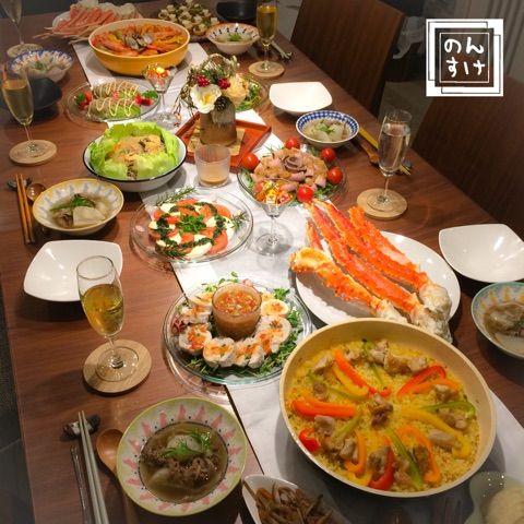 2016年の大晦日のおもてなしご飯