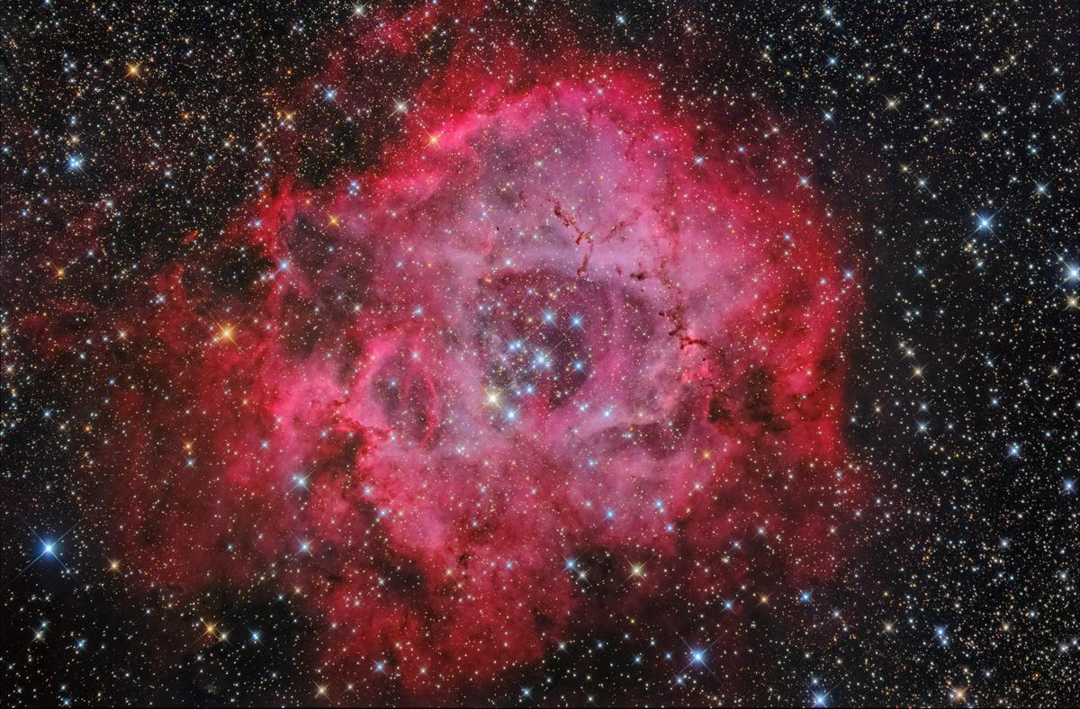 バラ星雲やり直し完成20191228栗矢観測所
