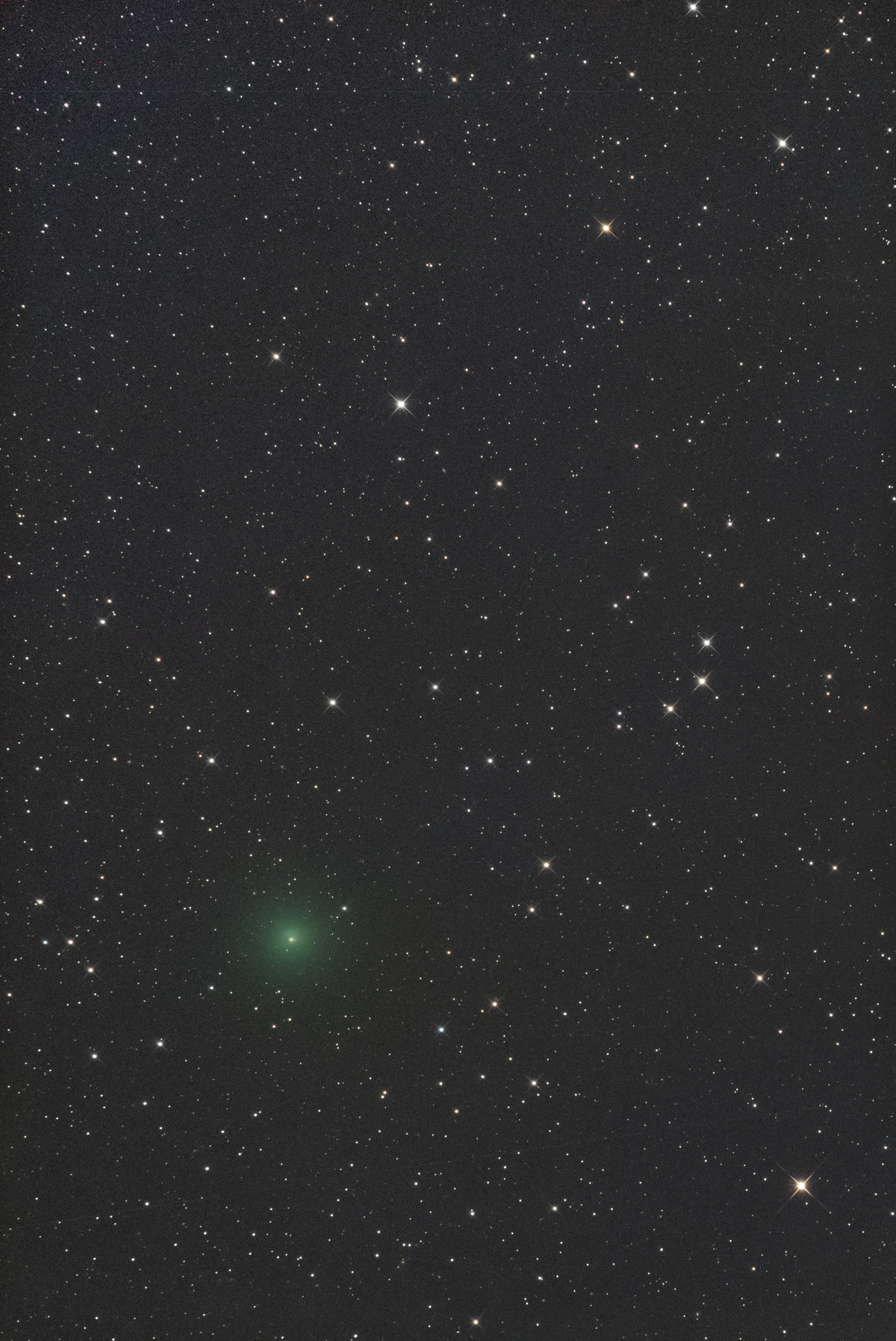 アトラス彗星M3 2020年10月13日