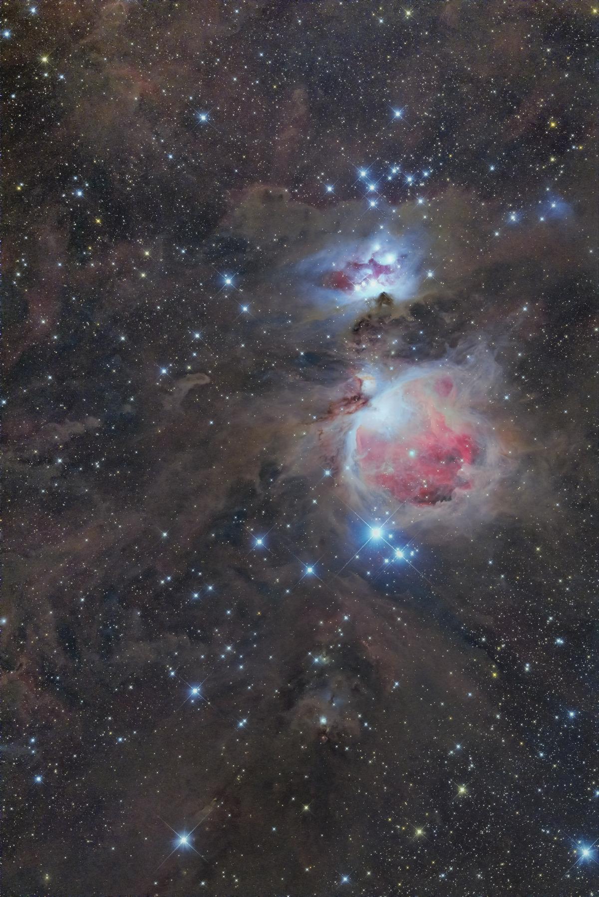 オリオン大星雲自宅ε-160ED+冷却6D