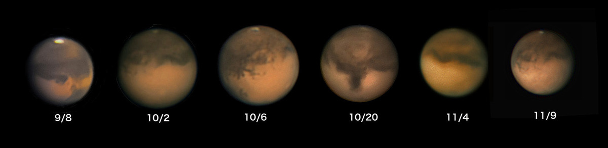 2020年の火星