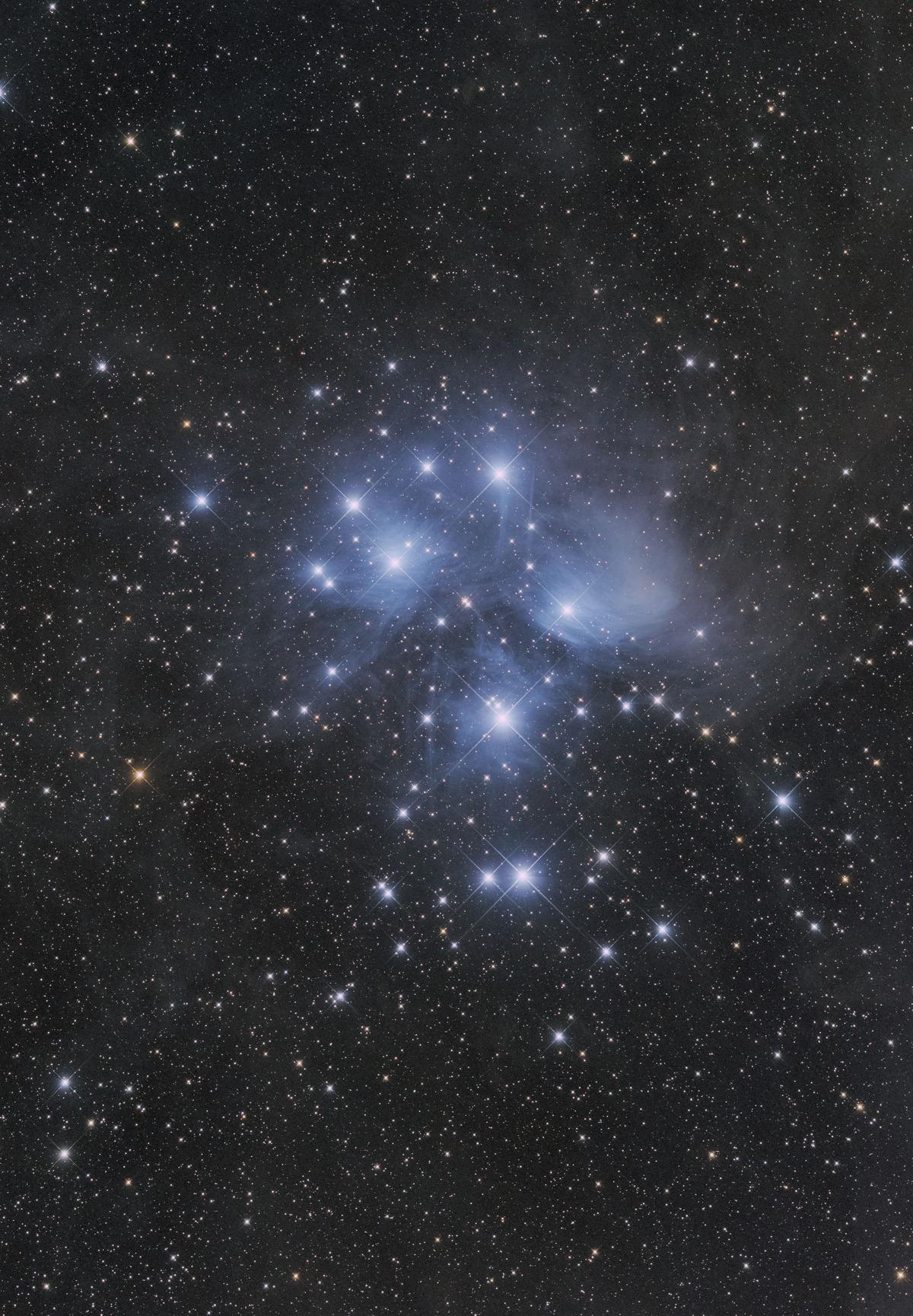 M45 ε-160ED Cooled6D 3分50枚と5秒24枚