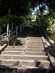 妙見堂階段