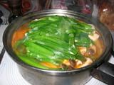 鳥キムチ鍋