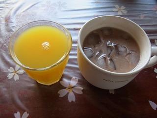 OJ&GFJと豆乳ココア