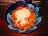 高野豆腐ミートスパゲッティー