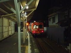 人気の無い本町駅
