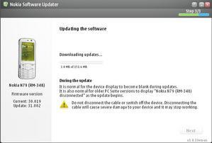 NOKIA N79 Firmware Update