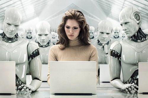 ロボット仕事