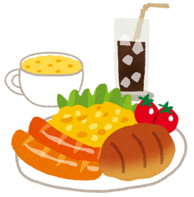 【朗報】ワイのこの朝食を見てほしいンゴwww