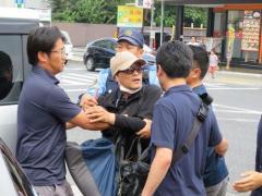 常磐道あおり運転で指名手配の男、大阪で逮捕