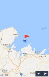 日本海はいまちょっと怖いw