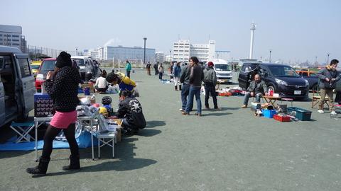 2015年6月14日 フリーマーケットin東扇島東公園 開催報告