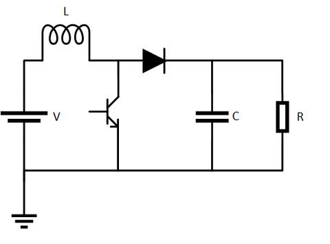 昇圧チョッパ回路