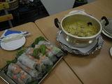 タイカレーと生春巻き Curry tailandese