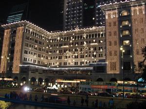 ペニンシュラ香港のイルミネ