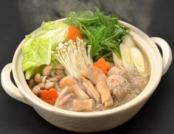 「おいしい冬の養生鍋」を食べよう