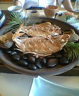 鯛宝楽焼き
